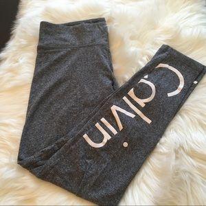 Calvin Klein Grey tight Capri leggings